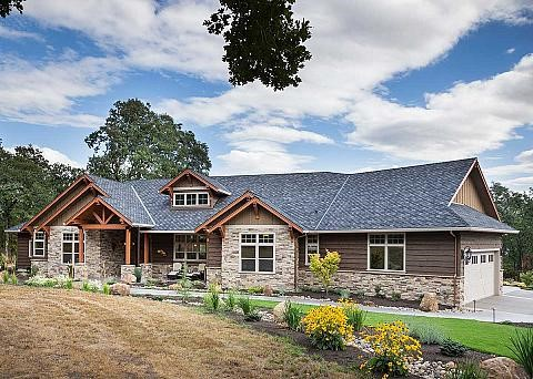 The ranch is one of the most popular house exteriors in the USA